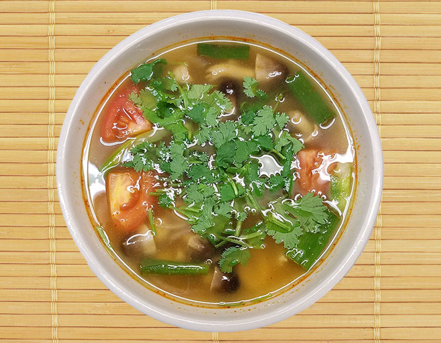 Tom Yum (Hot and Sour Soup)