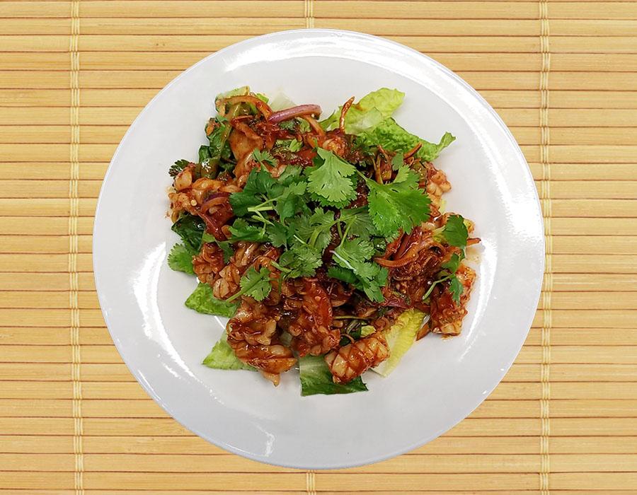 Yum Pla Muk (Squid Salad) Image