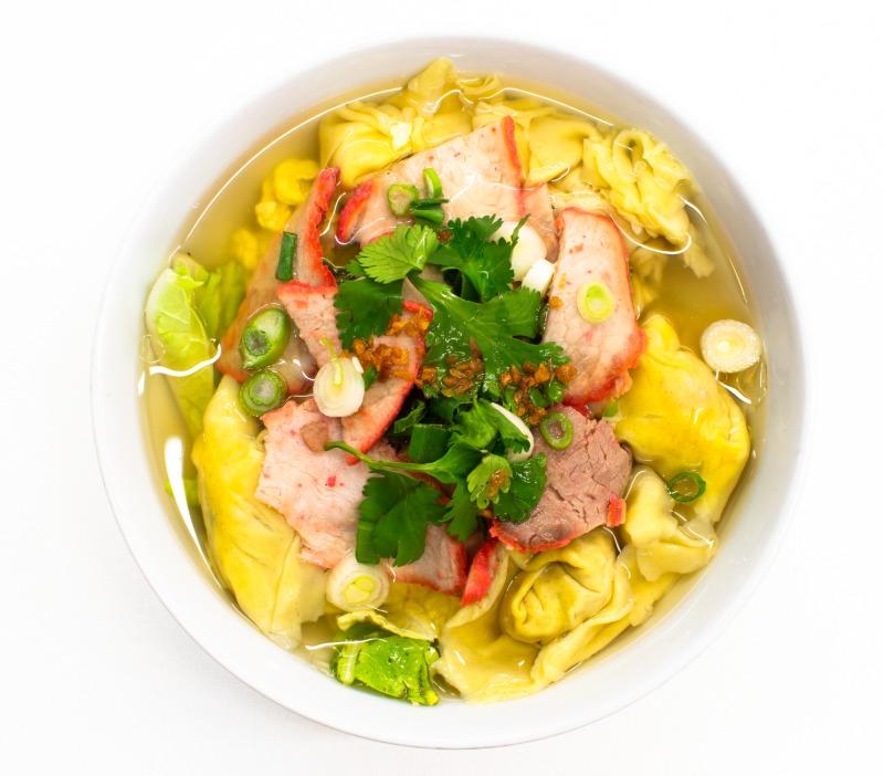 Thai Wonton Soup