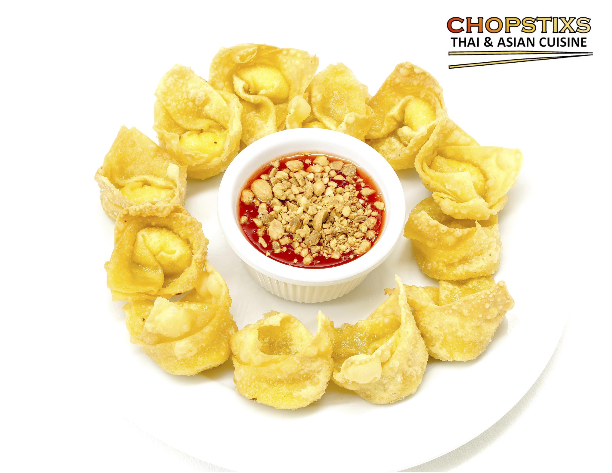 Fried Cheese Wonton (12 Pcs.) Image