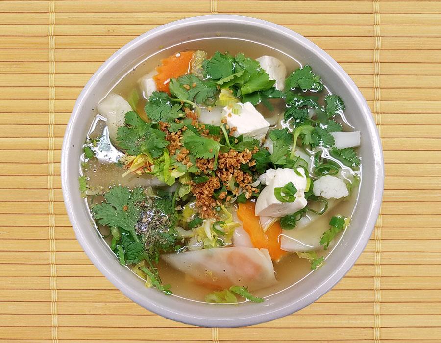 Vegetable and Tofu Soup Image