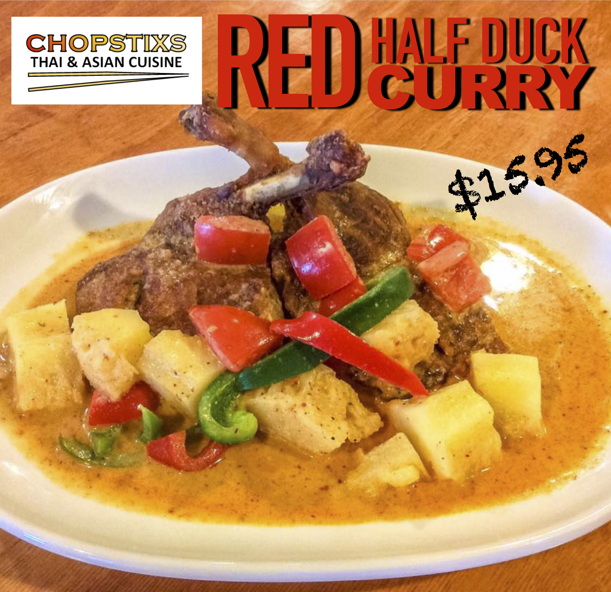 Duck Red Curry Image