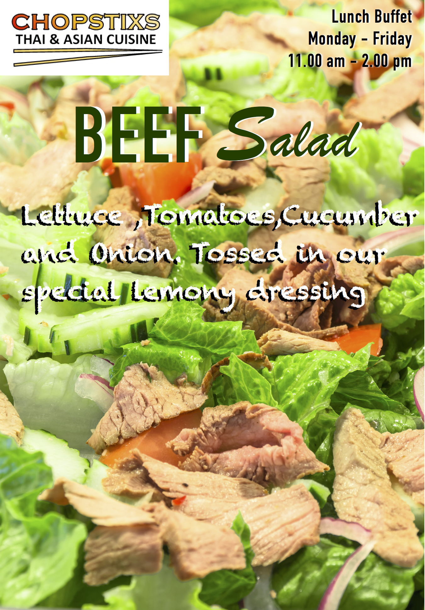 Yum Nuer (Beef Salad) Image