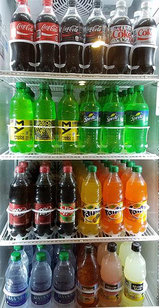 Bottle of Soda Image