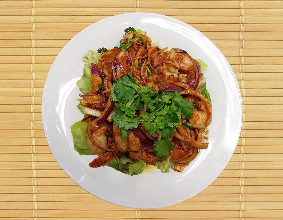 Pla Kung (Shrimp Salads) Image