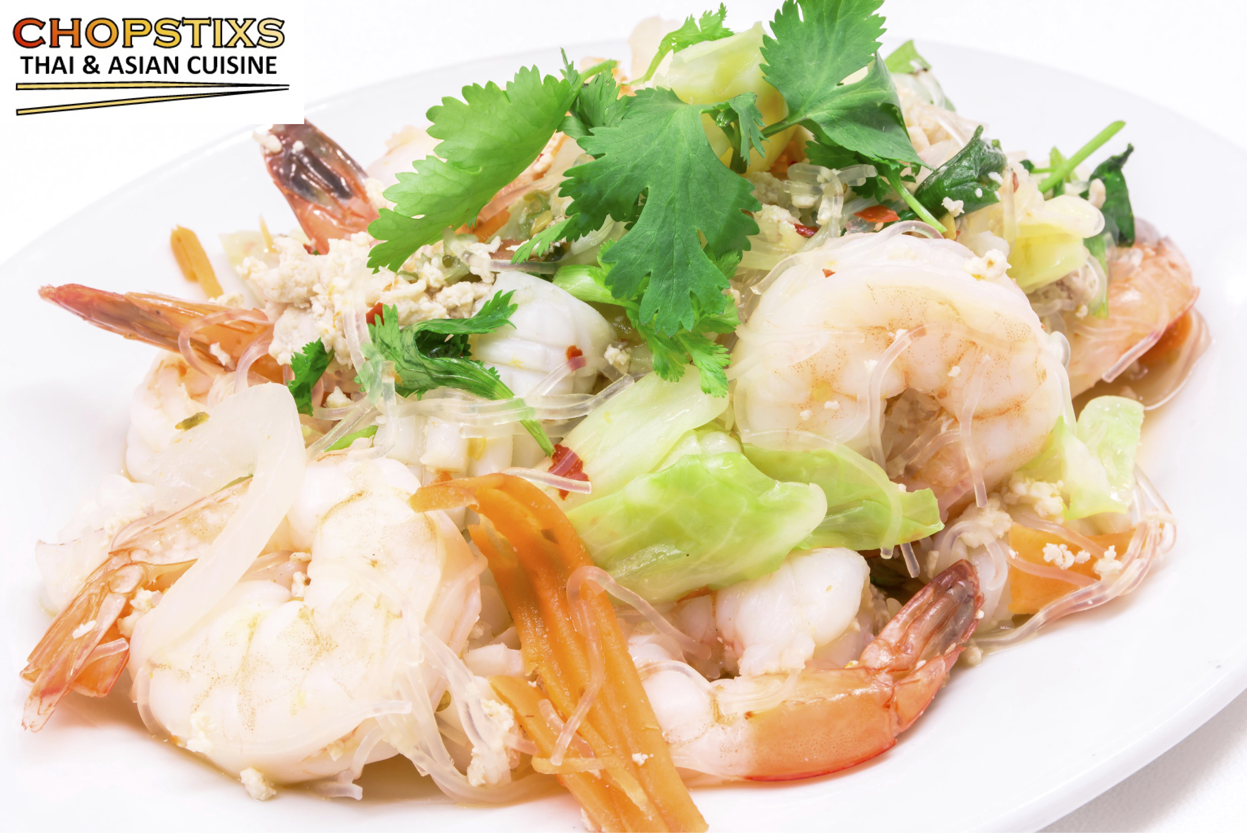 Yum Woon Sen (Glass Noodle Salad) Image