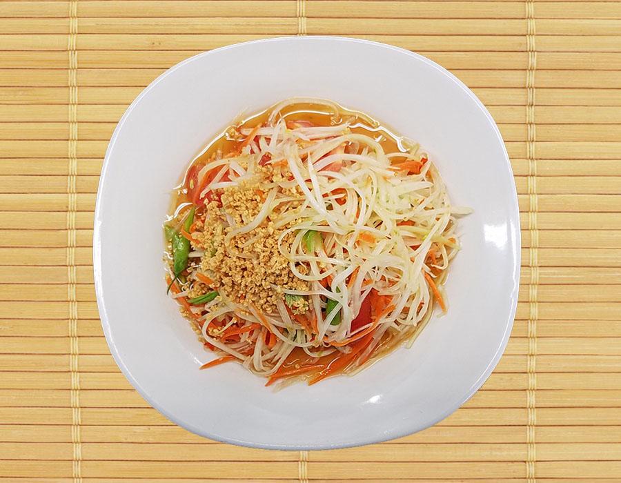 Som Tum (Papaya Salads)