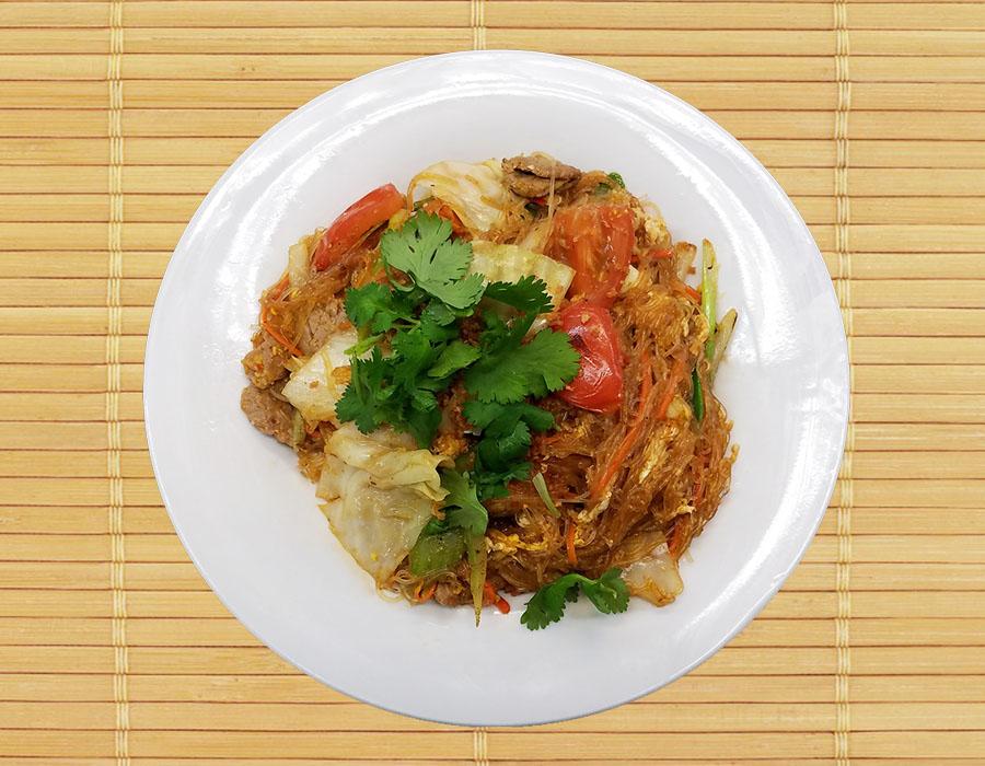 Pud Woon Sen (Glass Noodle)