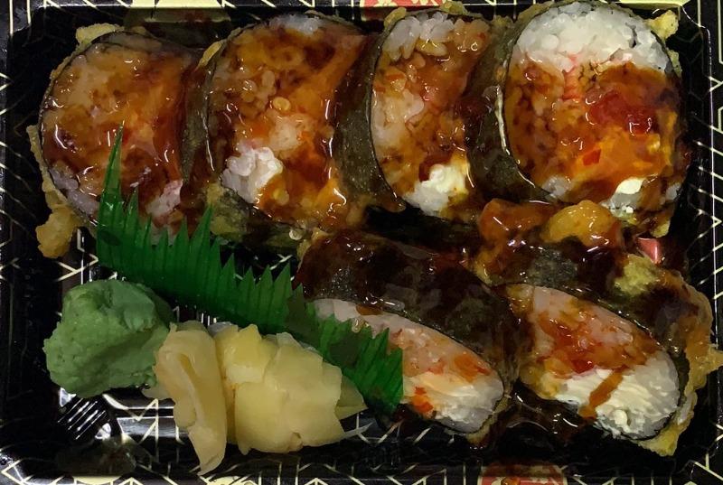Crab Rangoon Roll