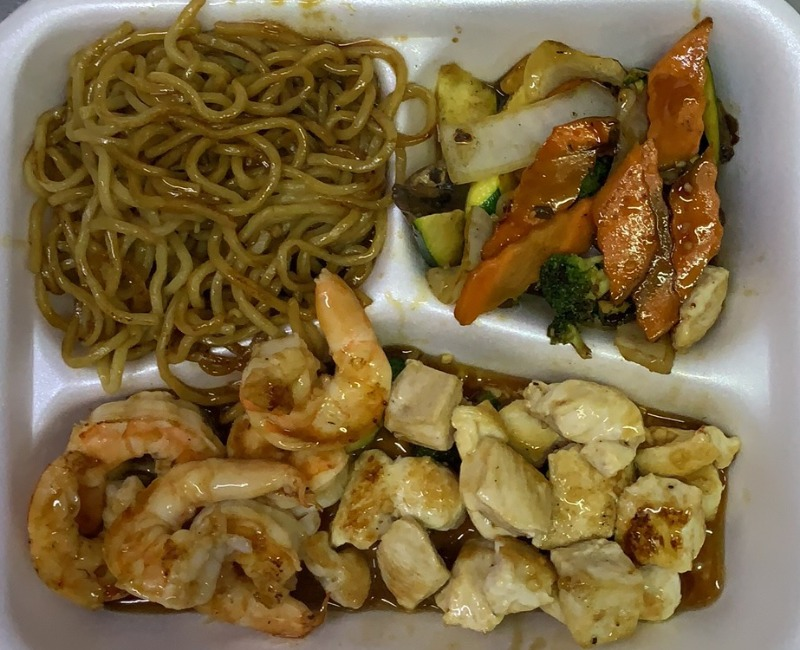 Hibachi Chicken & Shrimp