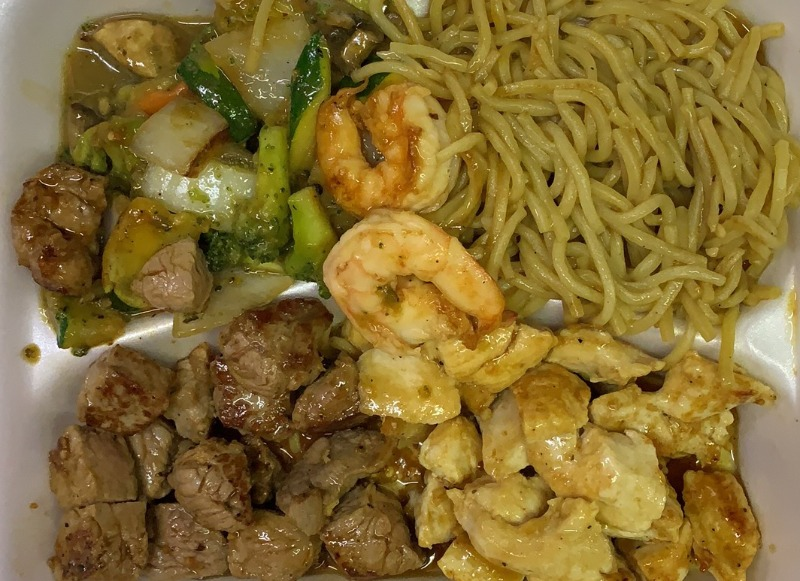 Hibachi Chicken & Steak Image
