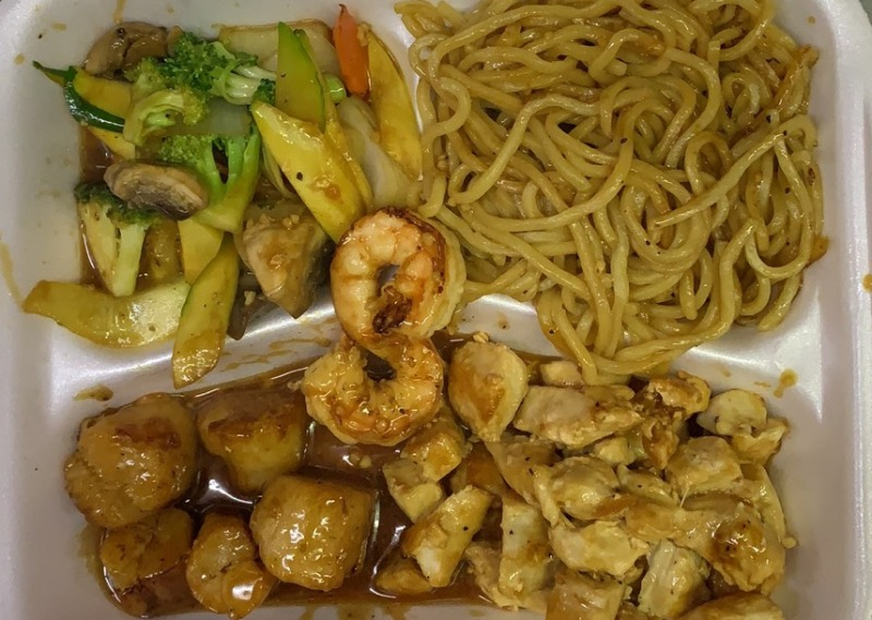 Hibachi Chicken & Scallops Image