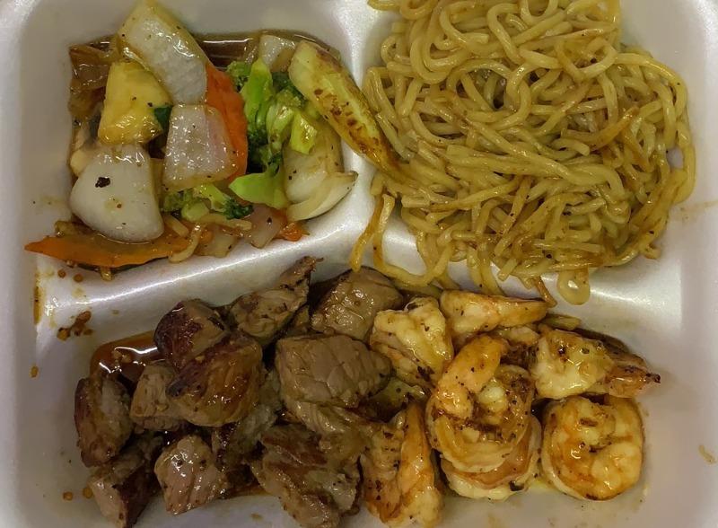 Hibachi Shrimp & Steak