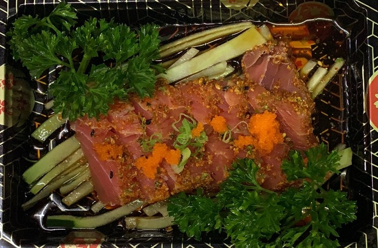 Seared Black Pepper Tataki Image