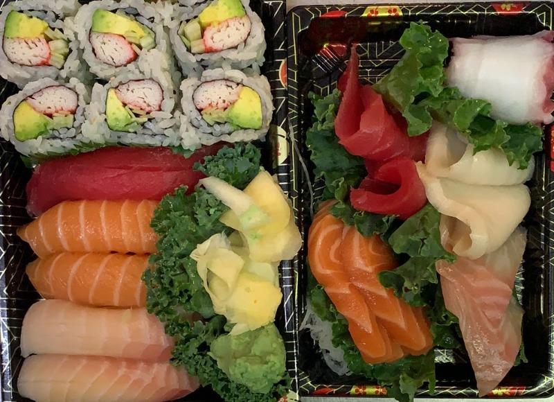 Sushi and Sashimi Combo Image