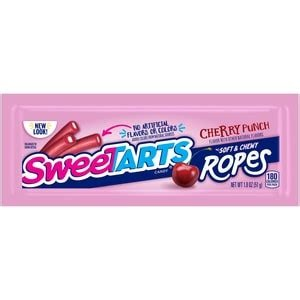 Cherry Punch Sweetarts Ropes