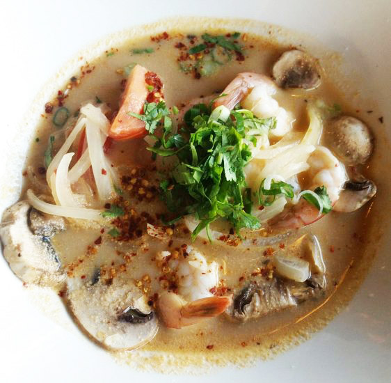 Ancient Thai Tom Yum Noodles Soup Image