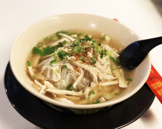 Shredded Thai Chicken Noodle Soup Image