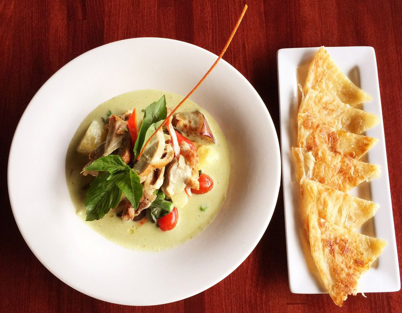 Roti - Roasted Duck Green Curry Image
