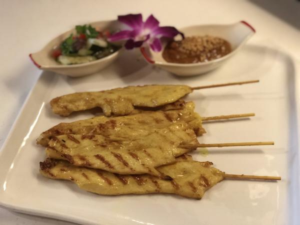 Thai Street Chicken Satay Image