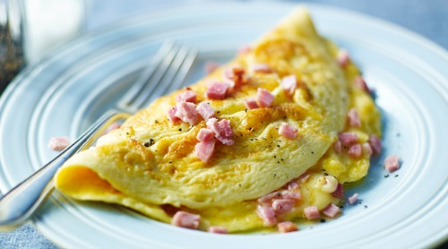 Ham & Cheese Omelet Image