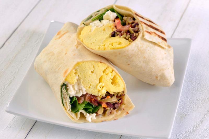 Mediterranean Breakfast Burrito