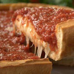 "14"" STUFFED DEEP DISH Chicago Style Pizza Image"