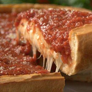 "14"" STUFFED DEEP DISH Chicago Style Pizza Image"