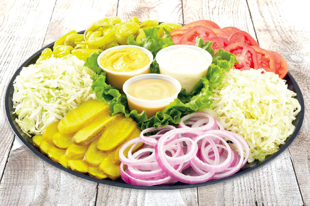 Sandwich Topper Tray Image