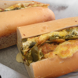 Pepper & Egg Sandwich Image
