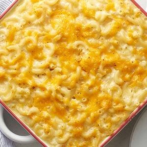 Baked Pepper Jack Mac 'n Cheese Dinner Image