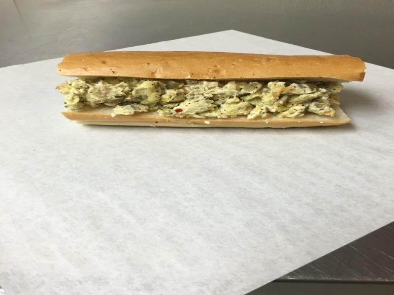 Pepper & Egg Sandwich Combo Image