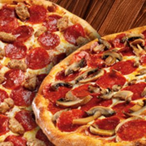 2 X 2 Pizzas Special Image