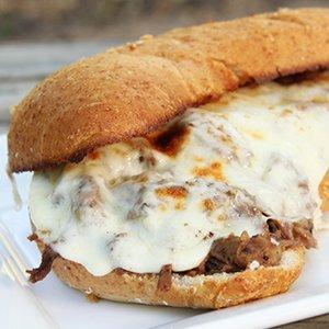 Italian Beef Pizziola Sandwich Image