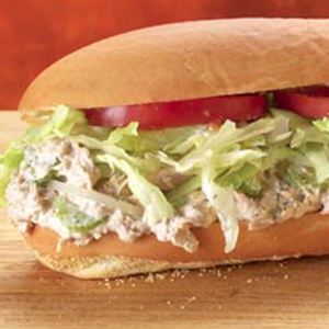 Tuna Sandwich Combo Image