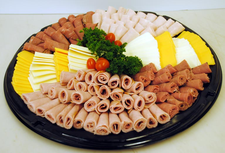 Meat & Cheese Tray Image