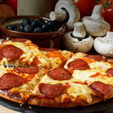 Meat Lovers Pizza Image