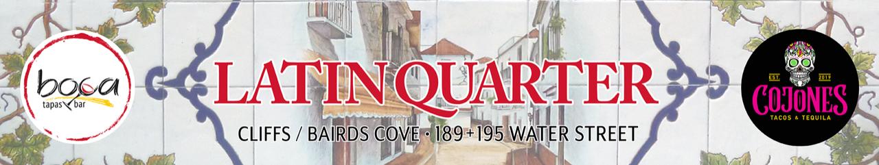 Latin Quarter Banner