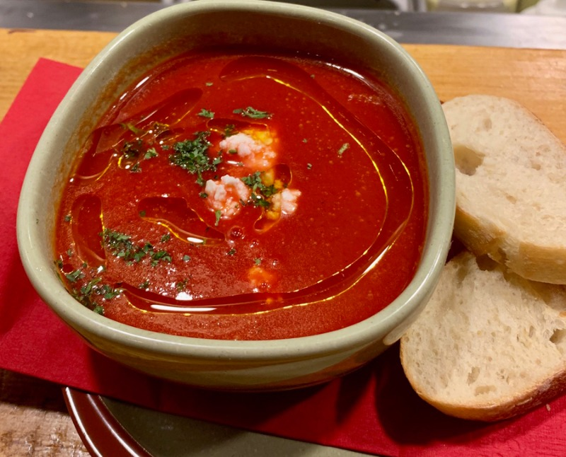 Tomato and Paquillo Pepper Soup