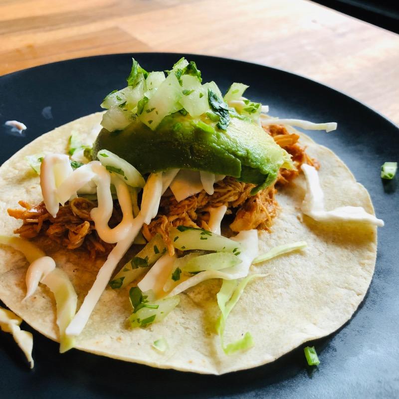 Taco Tinga De Pollo Image