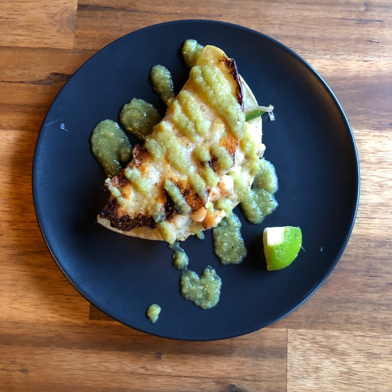 Taco Shrimp Quesadilla Image