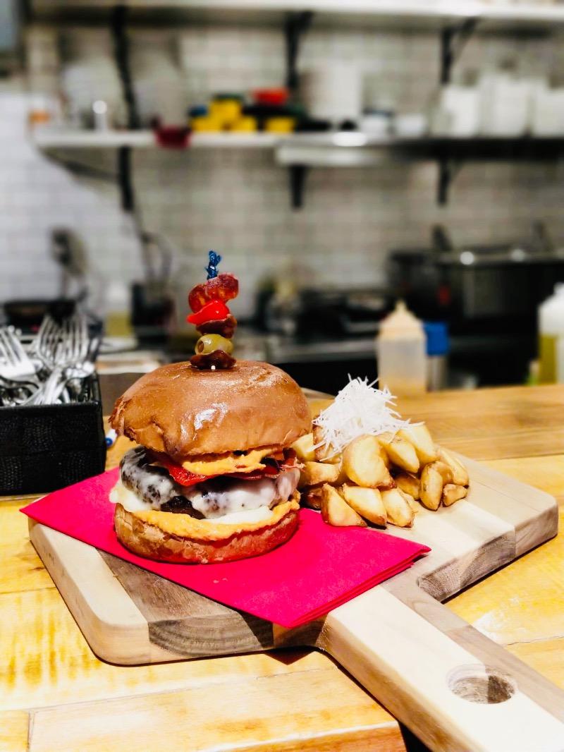 Boca Burger & Parm Bravas