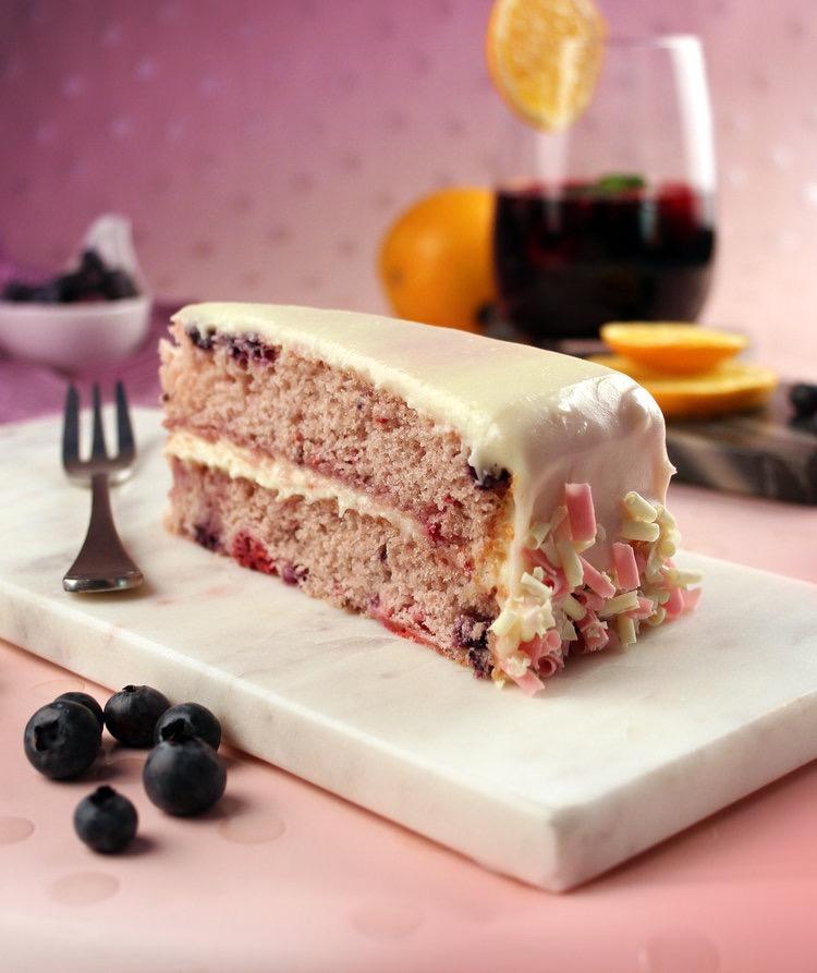 Sangria Cake Image