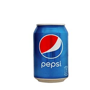 Pepsi tin to go