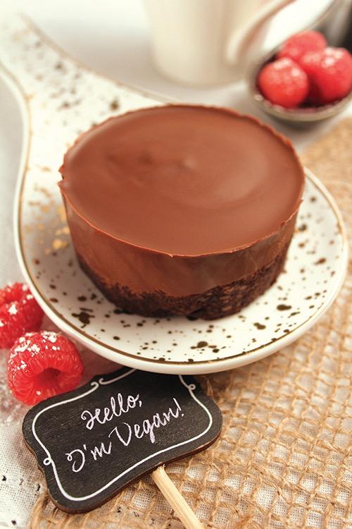 Vegan GF Chocolate Decadence Cake Image