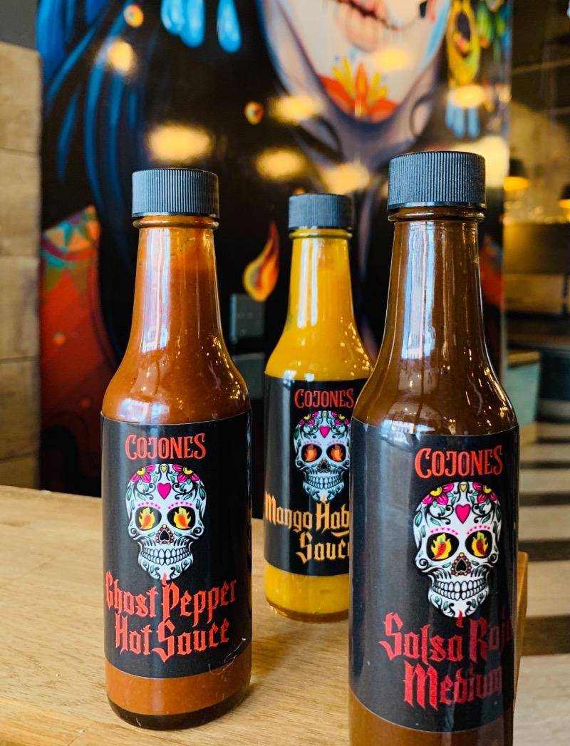 Cojones Hot Sauce Image