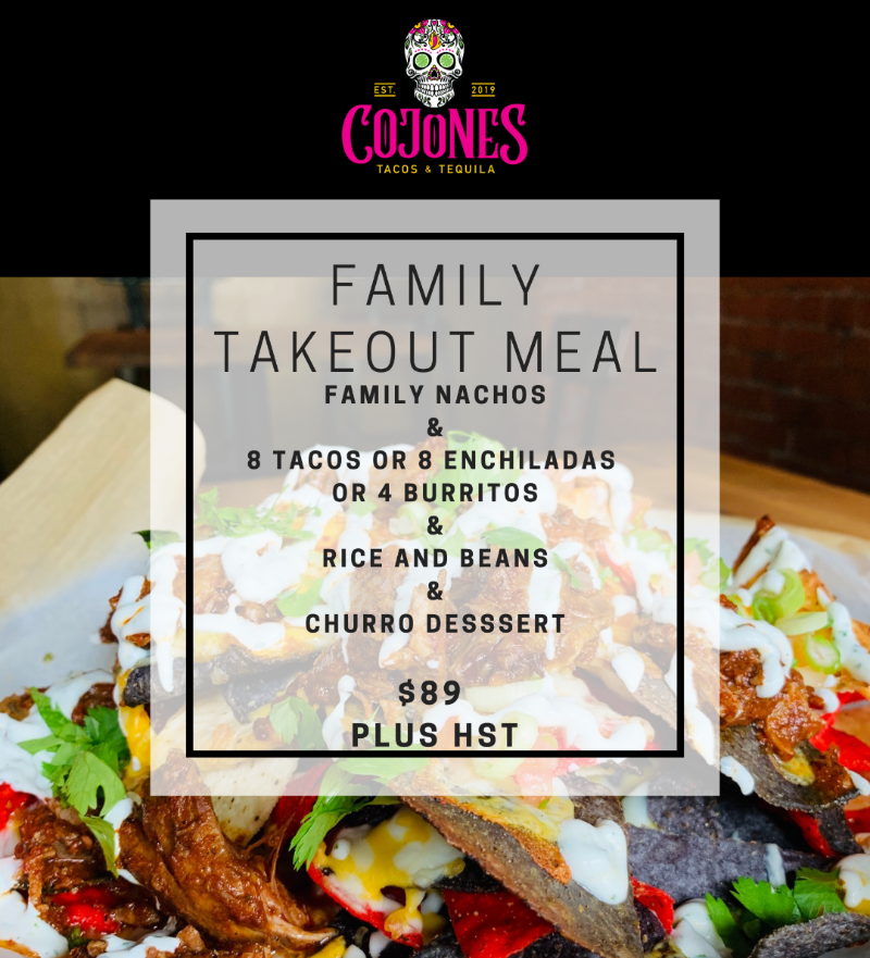 Family Takeout Meal - Enchiladas Image