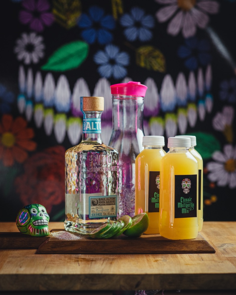 3 DIY Jugs of Classic Margaritas Tequila included