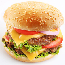BURGER w/ Choice Side/Snack Image
