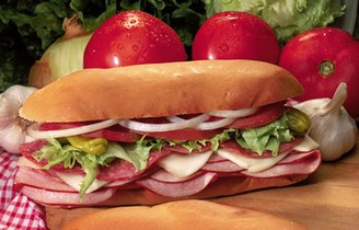 ITALIAN COLD CUT Sandwich w/ Choice Side/Snack